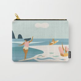 Wave Sisters Carry-All Pouch