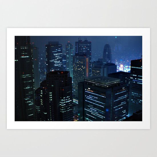 Tokyo Blues Lost in Translation Art Print