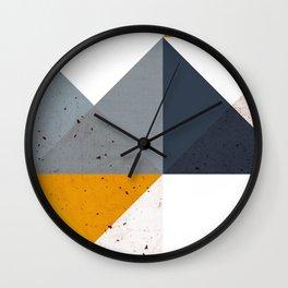 Modern Geometric 19/2 Wall Clock