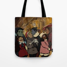 Les Normaux Christmas Tote Bag