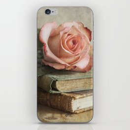 Smell of fresh rose iPhone Skin