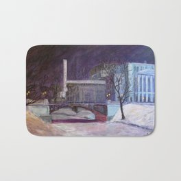 """On the Way to the Opera"" Bath Mat"