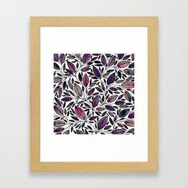 Floral Illustration - Leaf - No*45 Framed Art Print