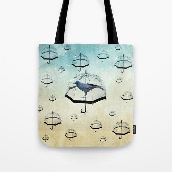 raven rain Tote Bag