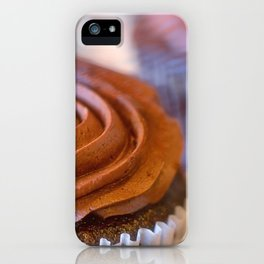 Sweet Dreams Chocolate Cupcakes iPhone Case