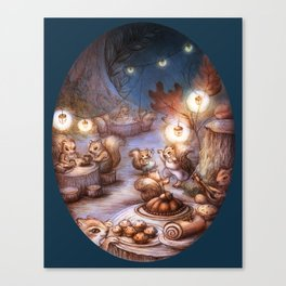 The Acorn Festival Canvas Print