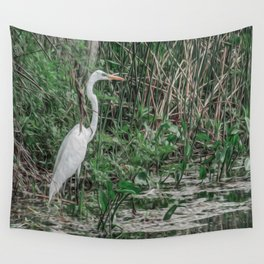 Just Wading Around Wall Tapestry