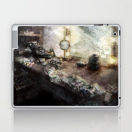 The dressing room of a Model Laptop & iPad Skin