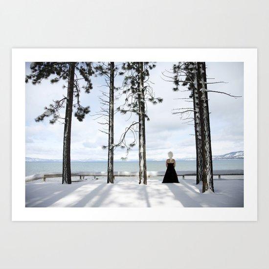 """""""Snow Queen"""" Art Print"""