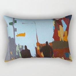 Look Up to the Sky Rectangular Pillow