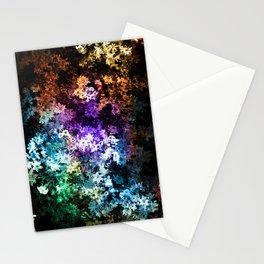 Black garden Stationery Cards