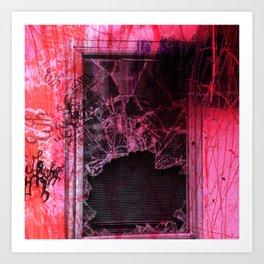 Broken window theory Art Print