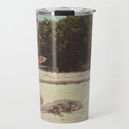 Iguana Island Travel Mug