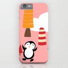 Oriana Penguin pink iPhone 6s Slim Case