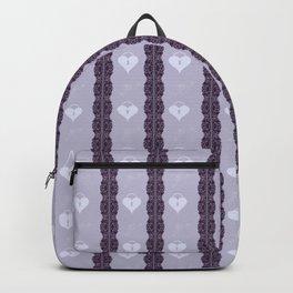 Purple Locket Backpack