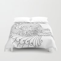 aries Duvet Covers featuring Aries by ladyberula