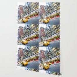 New York Street Scene Wallpaper