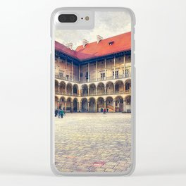 Cracow art 17 Wawel #cracow #krakow #city Clear iPhone Case