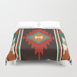 American Native Pattern No. 32 Duvet Cover