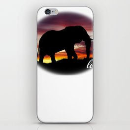 Elephant Lover Gift iPhone Skin