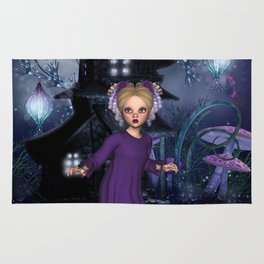 Little Daphine Fantasy Fairy World Rug