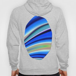 Abstract Fractal Colorways 01BL Hoody