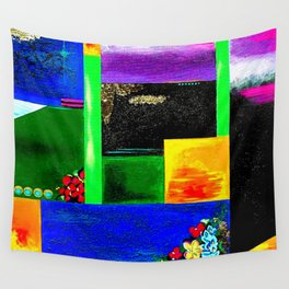 Sunrise in Ponce - Abstract Creative Fusion of Colors and Emotions Wall Tapestry