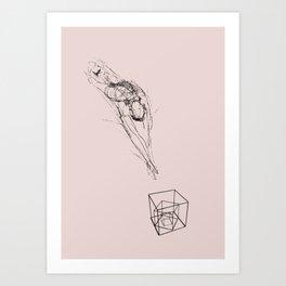 Jumper number 1047 Art Print