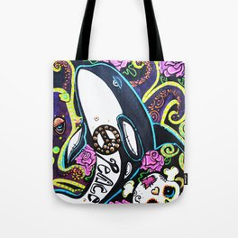 The Peace Whale Tote Bag
