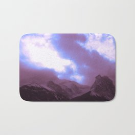 Canmore Mountains Bath Mat