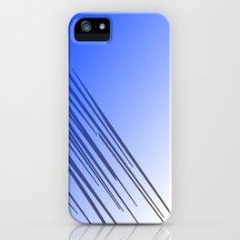 jungle wild design lines ethnic jpg    BLUE iPhone Case