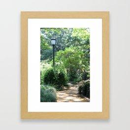 Alice Keck Park Memorial Gardens Framed Art Print