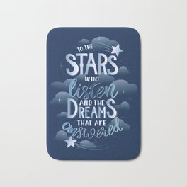 Night Court Book Quote ACOTAR Bath Mat