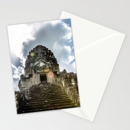 Angkor Wat, Steps to the Lotus Bud, Cambodia Stationery Cards