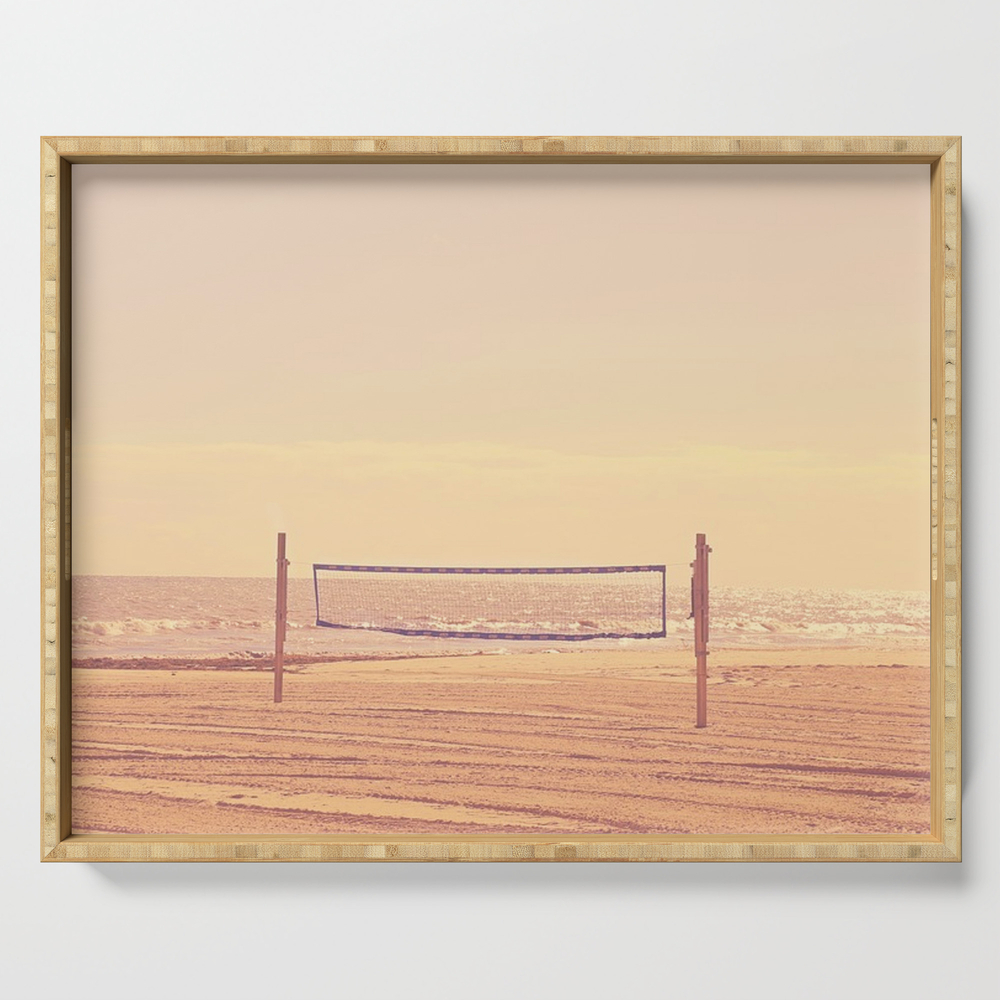 Beach Volleyball Serving Tray by historystuff