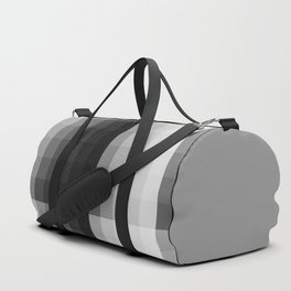 Value scale ..black , white  and grays Duffle Bag