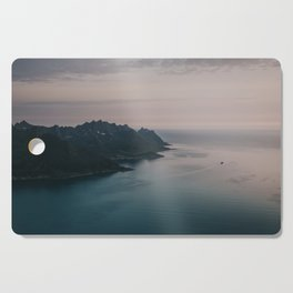 Fjord - Landscape and Nature Photography Cutting Board