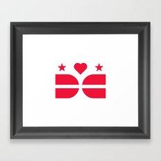 DCLove: v.Pride Framed Art Print