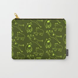 Frog pattern Carry-All Pouch