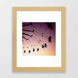 Summer Swings Framed Art Print