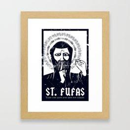 St. Fufas Framed Art Print