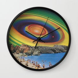 Supergraphic Summer - The Color of Summer 2 Wall Clock