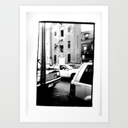 Clinton Hill, Brooklyn - New York  /   date: Oct 1995   Art Print