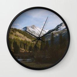 McClure Pass Wall Clock