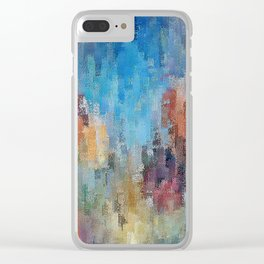 Life is a Box of Crayons (transitioning to Heaven's Gate) Clear iPhone Case