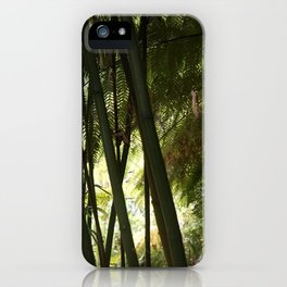 The Jungle of Heligan iPhone Case