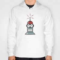 bender Hoodies featuring Bender by Betmac