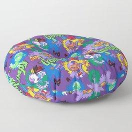 Vintage 90's Pattern Floor Pillow