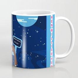 scientists stephen hawking  illustration Coffee Mug