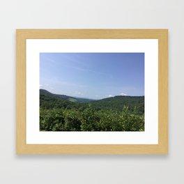 Hilltops Framed Art Print
